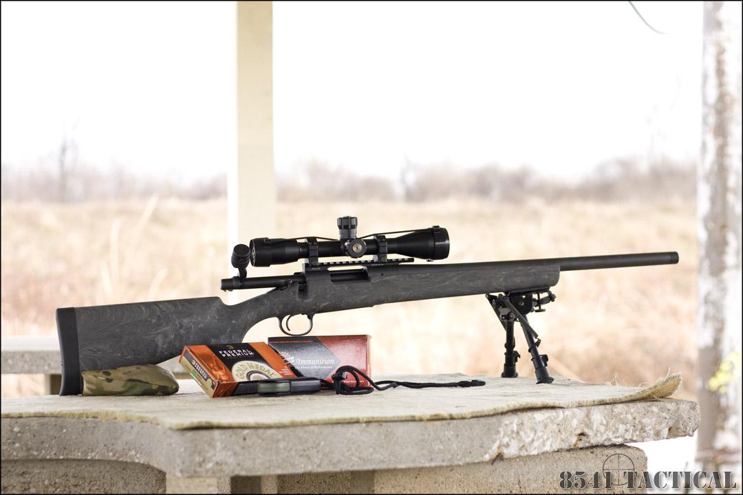 8541 Tactical Remington 700 Sps Tactical Aac Sd
