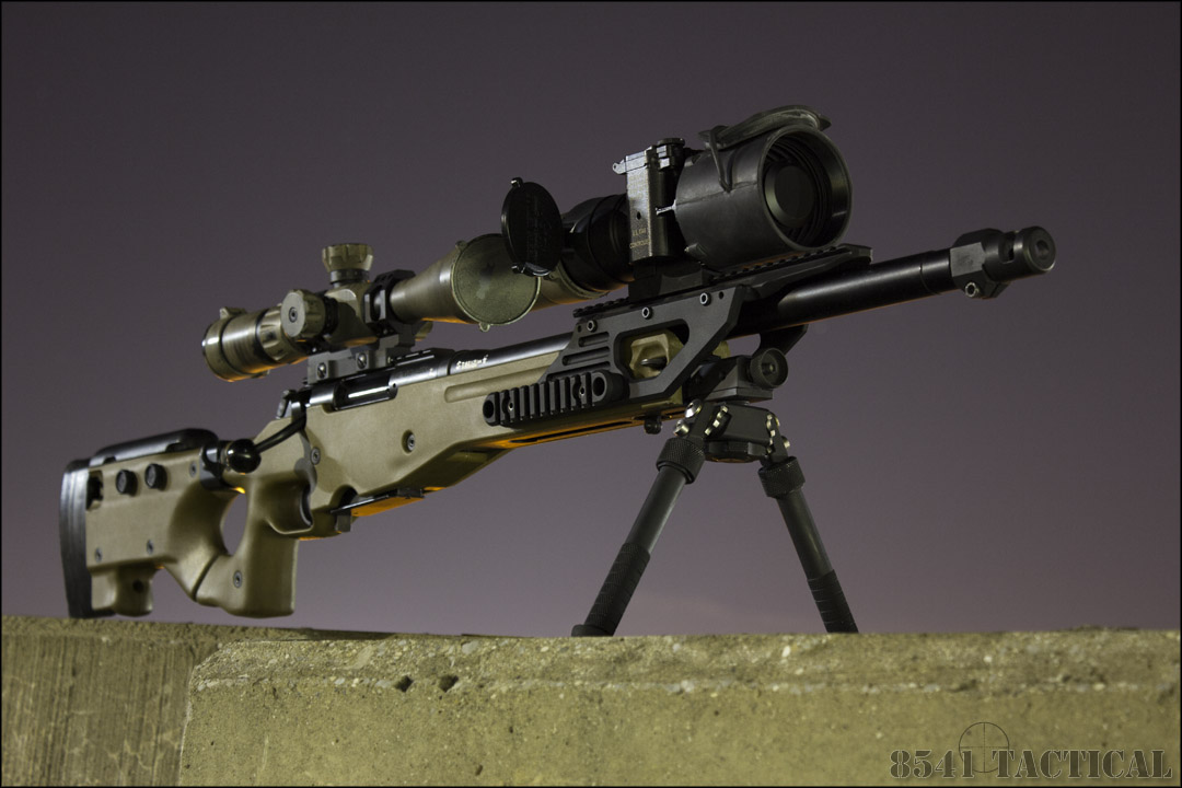 Cadex Field Strike Rifle Chassis   Black Label Tactical