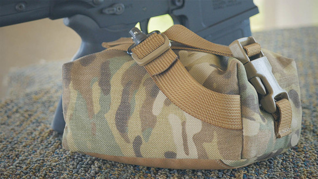 "Short Action Precision ""Run n' Gun"" Bag in Multicam with ""Flush Cup Swivel"" Option."